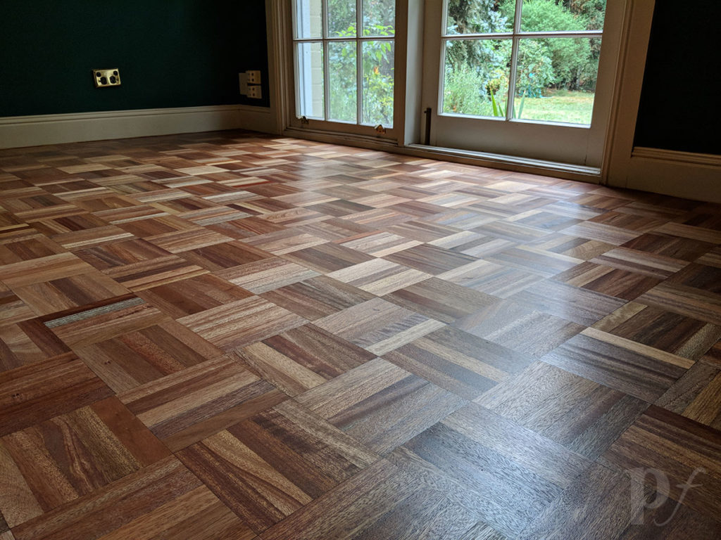 Parquetry - Satin Finish